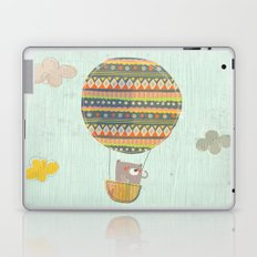 Bear in the air Laptop & iPad Skin