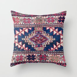 Varamin Luri North Persian Mafrash Print Throw Pillow
