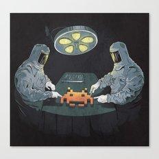 Alien Autopsy Canvas Print