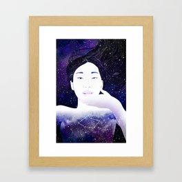 Vela Framed Art Print