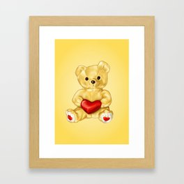 Teddy Bear Hypnotist Framed Art Print