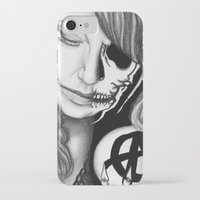 gemma correll iPhone & iPod Cases featuring Twisted Gemma by E. Moug Art
