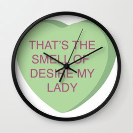Brian Fantana Conversation Heart Wall Clock