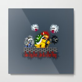 Nice Guys Finish Last Metal Print