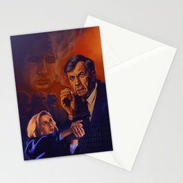 I Want To Believe - Cigarette Smoking Man - Trust No One - The Truth Is Out There Stationery Cards