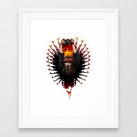apocalypse now Framed Art Prints featuring Apocalypse now by LukArt