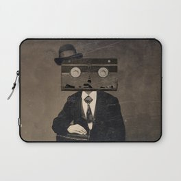 Faces of the Past: VHS Laptop Sleeve