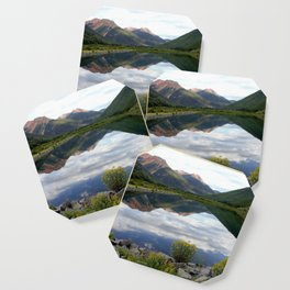 Crystal Lake on the Million Dollar Highway, elevation 9,611 feet Coaster