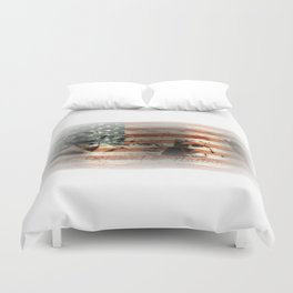The Rise of a Nation Duvet Cover