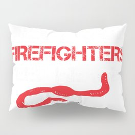 Cops Because Firefighters Need Heroes Funny Police Pillow Sham