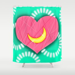 Spring Moon Shower Curtain