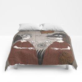 Ana and Eva (An All Hallows' Eve Tale) Comforters