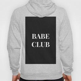 Babeclub black Hoody