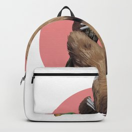 Slothing around Backpack