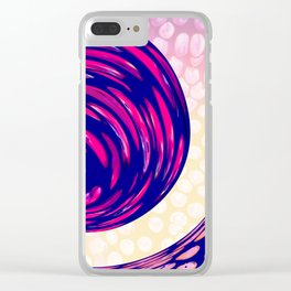 Watching the Waves During Sunset Clear iPhone Case