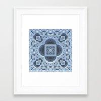 frozen Framed Art Prints featuring Frozen by Lyle Hatch