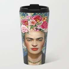 Forever Frida Metal Travel Mug