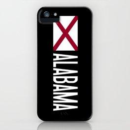 Alabama: Alabamian Flag & Alabama iPhone Case