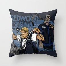Redwood Original Throw Pillow
