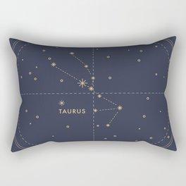 Vintage Taurus Rectangular Pillow