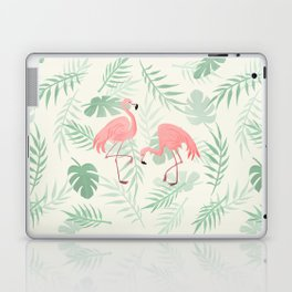 Flamingo Love Tropical Laptop & iPad Skin