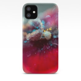 Crystal Orchid Sparkles iPhone Case