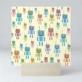 Robotic brothers Mini Art Print