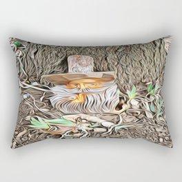 Spring Tease Rectangular Pillow