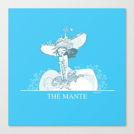 Thé Mante Canvas Print