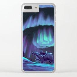 His Dark Materials Clear iPhone Case