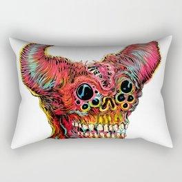 Demon Head Rectangular Pillow