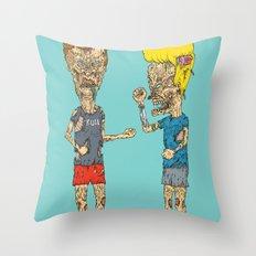 Zombholio Throw Pillow