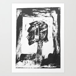 I'm Sorry What Was That? Oh, Nothing.  Art Print