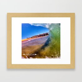 Covered Up Framed Art Print