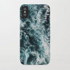 Ocean Waves Slim Case iPhone X