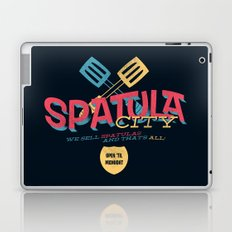 Spatula City! (open edition) Laptop & iPad Skin