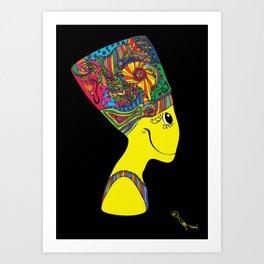 The Brain of Nefertiti Art Print