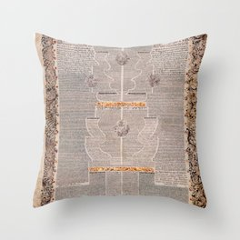 Aaron Wolf Herlingen - The Five Scrolls Ruth, Song of Songs, Ecclesiastes, Esther, and Lamentations Throw Pillow