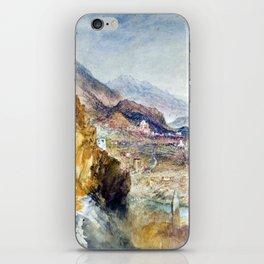 Joseph Mallord William Turner Chatel Argent iPhone Skin