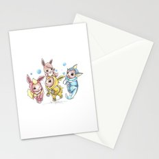 Bursting Bubbles Stationery Cards