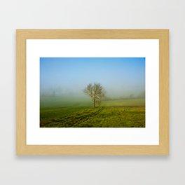 Lot et Garonne Framed Art Print