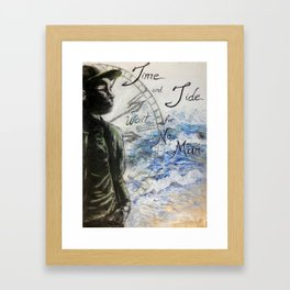 Time and Tide Framed Art Print