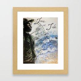 Time and Tide Framed Art Print