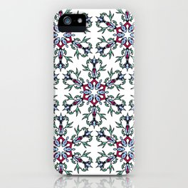 Medallion Traditional 1 repeating iPhone Case