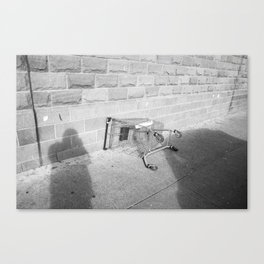 Surface Tension: Trolly, Glasgow Canvas Print