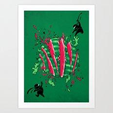 SAYONAR SAIKA! Art Print