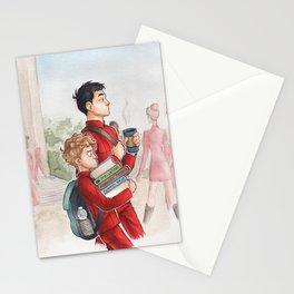 Sulu and Chekov - Starfleet Academy Stationery Cards
