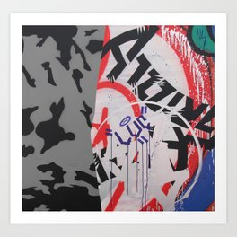 Graffiti Abstraction #3 Art Print