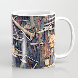 Releasing the Nails From My Heart's Past Wounds Coffee Mug