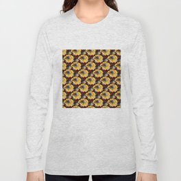 Fake Field of Flowers Long Sleeve T-shirt